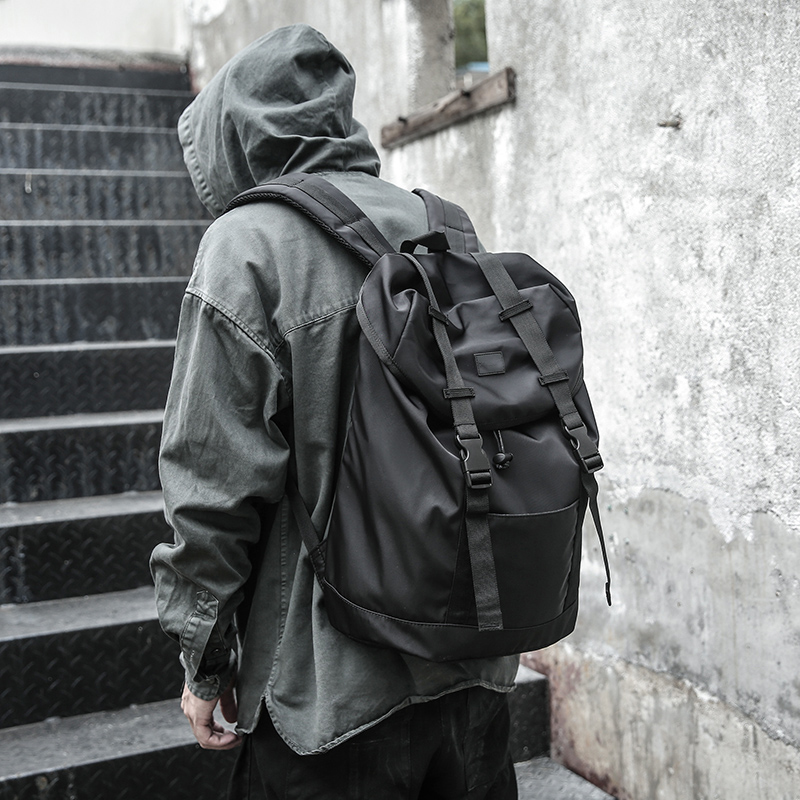 Men Backpack Nylon Waterproof Anti Theft Backpack School Bags For Teenage Boys College Large Capacity Men's Travel Bag Mochila