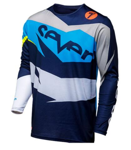 2019 new motocross jersey mountain bike downhill jersey long sleeved motorcycle riding jersey off road motorcycle dh riding in Cycling Jerseys from Sports Entertainment