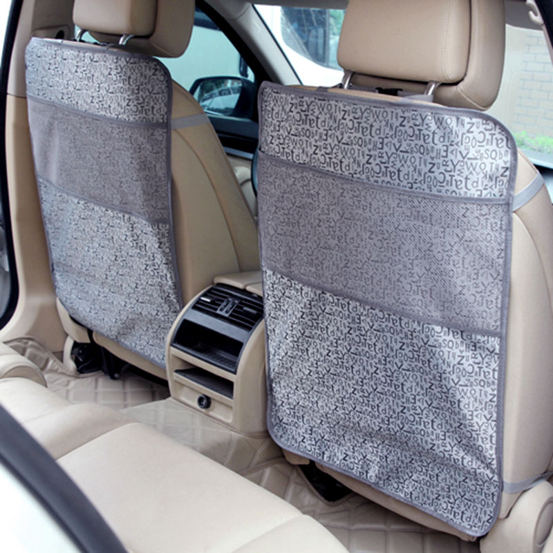 oxford cloth car seat back protector anti kids shoes pad waterproof children kick mat car accessories seat covers 7050cm