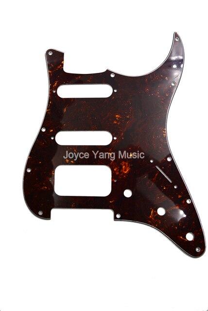 Niko Tortoise 4 Ply Electric Guitar Pickguard Ssh Pickups For Fd