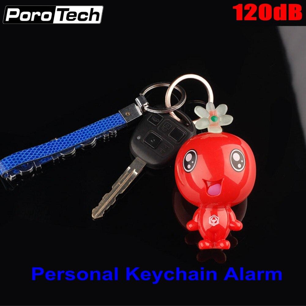 Wholesale 120dB Super Loud Personal Safety Alarm Mini Cute Key Chain Alarm Emergency Panic Alarm For Students Women Girls Kids