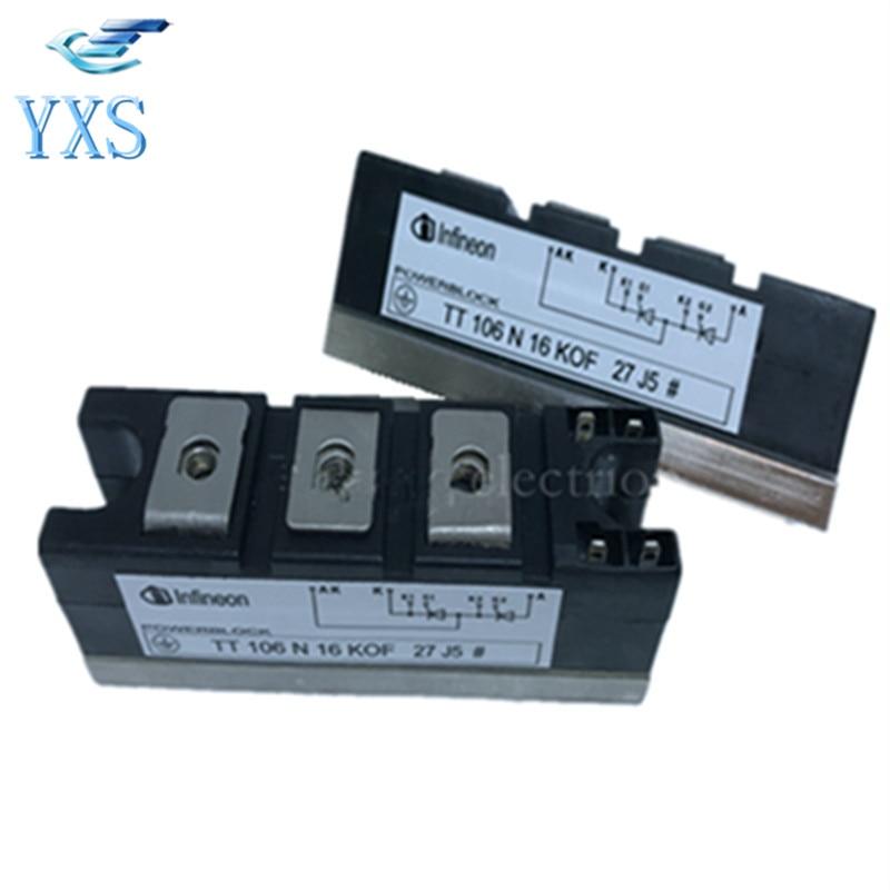 TT106N16KOF EUPEC SCR Module TT106N16KOF Power SCR Module New Spot tt260n22kof eupec type new tt260a power module