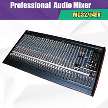 New 2015 MG32/14FX Skilled Digital Mixer 32 Channel Effectors Audio mixer for Assembly Stage KTV dj mixer