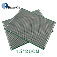 5 قطعة/الوحدة 15x20 سم 2.54 مللي متر النموذج PCB 2 طبقة 15*20 لوحة العالمي مجلس مزدوج الجانب