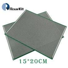 5PCS/LOT 15x20 cm 2.54mm PROTOTYPE PCB 2 layer 15*20 panel Universal Board double side
