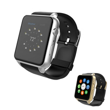 1.54 polegada quadrada de fitness rastreador smartwatch reloj inteligente Bluetooth 4.0 240*240 PK KW88 X86 S8 GW06 GW01 pulso homens relógio