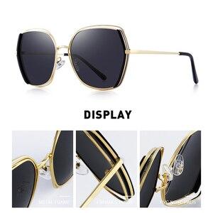 Image 2 - MERRYS gafas de sol polarizadas de lujo para mujer, lentes de sol con diseño a la moda, protección UV400 S6267