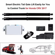 Smart Auto Electric Tail Gate Lift for Honda CRV 2017 Control Set Height Avoid Pinch smart auto electric tail gate lift for hyundai ix35 control by remote drive seat tail gate button set height avoid pinch