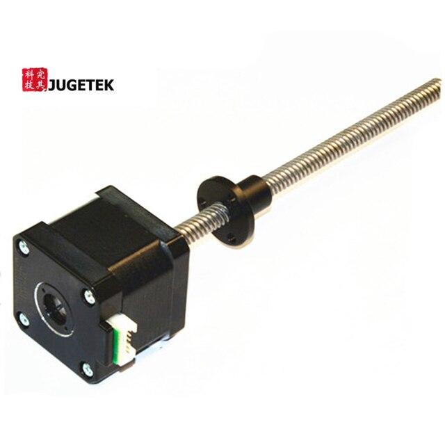 New 400mm Length Nema17 Threaded Rod with Tr8*4 Acem Leadscrew n leadscrew nut