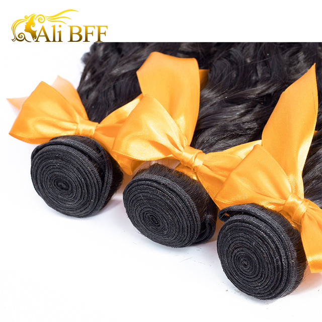 Water Wave Bundles With closure 3 Bundles Malaysian Human Hair Tuneful Remy Hair Pre Plucked Lace Frontal Closure With Bundles