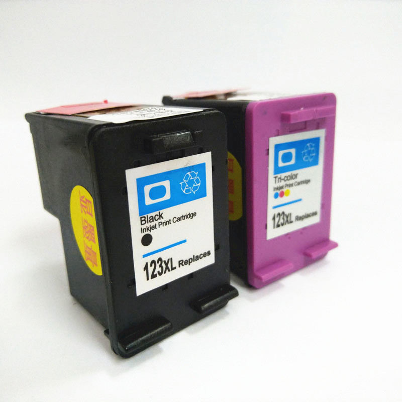Vilaxh compatible For HP 123 Ink Cartridge Replacement For HP 123 xl 123xl Deskjet 1110 2130 2132 2133 3630 3632 Printer in Ink Cartridges from Computer Office
