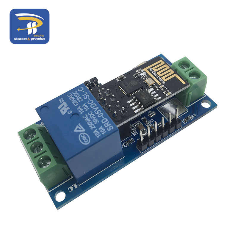 5V ESP-01 ESP8266 1 Channel WiFi Relay Module Remote Control Switch For IOT Smart Home