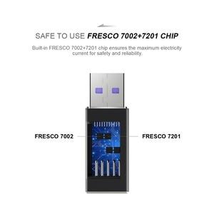 Image 4 - QGeeM adaptador macho de puerto USB 3,1 tipo C hembra A USB 3,0, de 10Gbps conector tipo A, adaptador de sincronización de datos, conector para Macbook Google