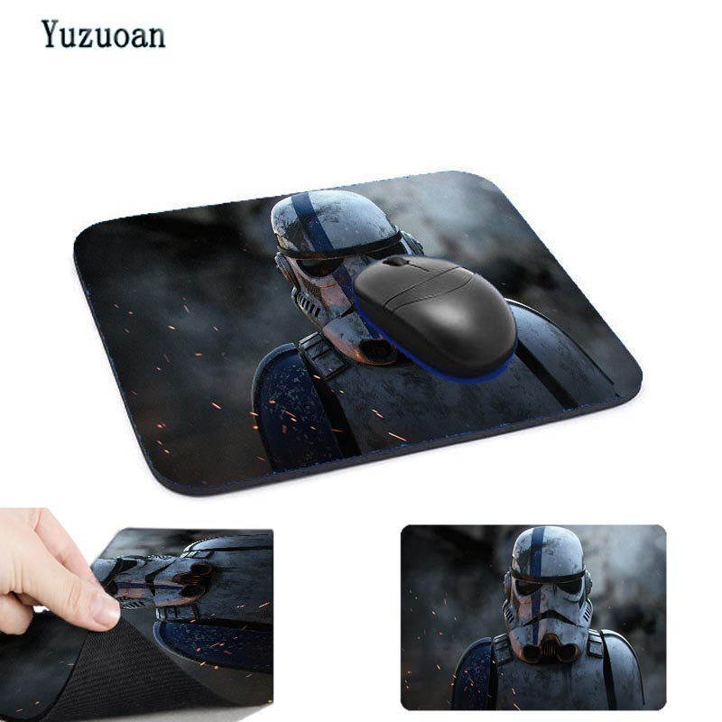 Yuzuoan Top Game star wars Hot Sale Mouse Pad Computer Gaming Rubber MousePads 180*220*2mm or 250*290*2mm Decorate your desk