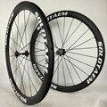 Любой бренд 45 мм Tubualr Углеродные колеса 700C шоссейные велосипеды полностью Углеродные колеса 45 мм велосипедные колеса