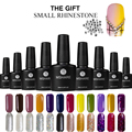 MSHARE 10ML UV Nail Gel Polish Art Decoration Long Lasting Varnish Manicure German Material Lacquer 128 Colors + Free Rhinestone