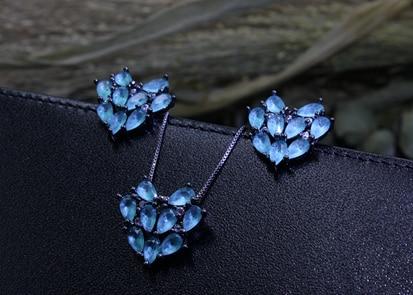 Women Jewelry Sets Flower...