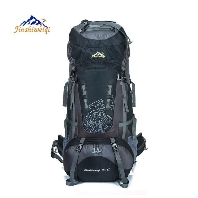 la meilleure attitude a70d9 19163 € 38.21 47% de réduction 80L sac à dos extérieur unisexe voyage escalade  sacs à dos sac à dos étanche en Nylon sac de Camping randonnée sac à dos  dans ...