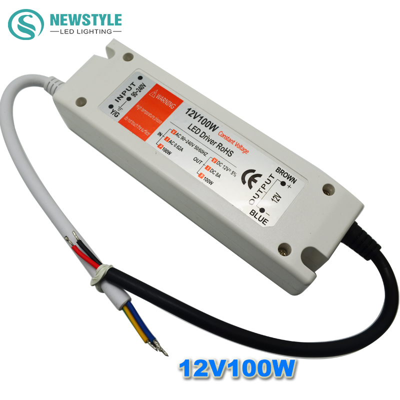 buy led power supply 12v 100w led driver. Black Bedroom Furniture Sets. Home Design Ideas