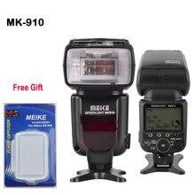 Meike MK-910 MK910 G60 i-Speedlite Flash TTL 1/8000 s Alta-velocidade de Sincronização para Nikon D7100 D90 D4 D800 D800E VS Yongnuo in-568ex ii