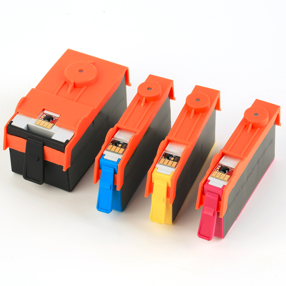 One Set Of Ink Sets Good Quality Ink Cartridge Compatible For HP Officejet 6000 7000 7500A