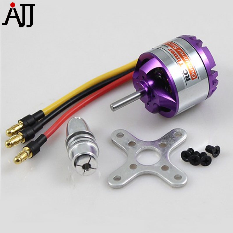 Rctimer BC2830 2830 1300KV 1000KV 850KV 750KV Outrunner Brushless Motor 3.17mm Shaft Motors