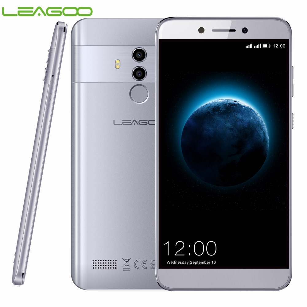 LEAGOO T8 4G 16 2 GB de RAM GB ROM Smartphones 5.5 ''FHD Android 8.1 MT6750T Octa Núcleo 3080 mAh 13MP ID Rosto Impressão Digital de Telefonia móvel