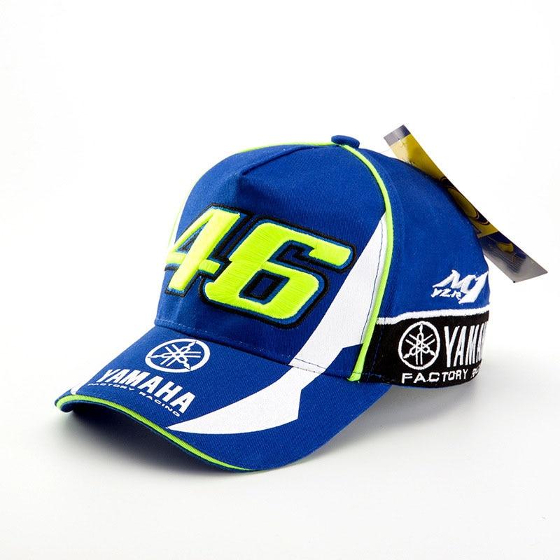 Prix pour Chaude Chapeau Casquette de baseball Hommes Femmes MOTO GP 46 Moto Racing Cap Rossi VR46 Sport Plein Air snapback Course YMH Caps C1003