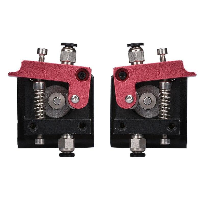 1 pc 3D imprimante accessoires MK8 tout en métal à distance extrudeuse MK8 extrudeuse Avec Support gauche et droit chemin Pour 3D imprimante