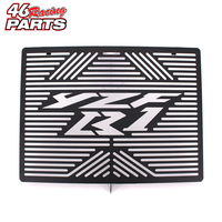 Black Motorcycle Accessories Radiator Guard Protector Grille Grill Cover For YAMAHA YZF R1 YZF R1 2009
