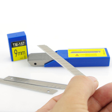 Free shipping 9mm Carbon Steel Snap-off Utility Sharp Knife Replacement Blade FOR GRAPHIC SIGNMAKING/ 50-Blades/Pack MX-157