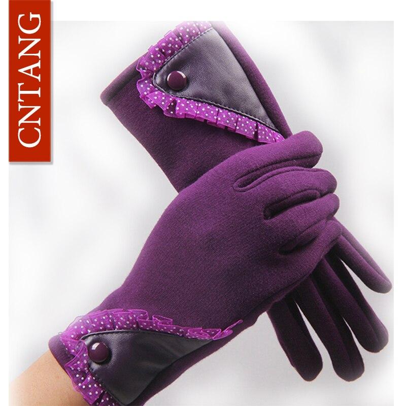2016 Autumn Winter Womens Gloves