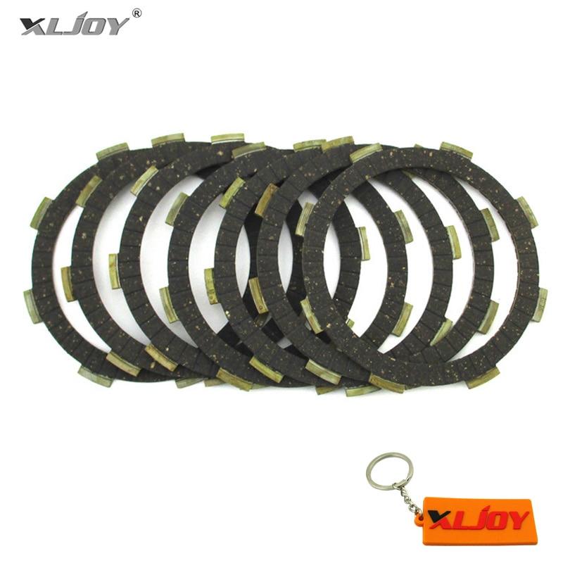 Clutch Friction Plates For YX ZS Lifan 150 160 200cc 250cc Engine Pit Dirt Bike