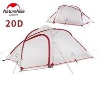 NatureHike Hybi 3 человек Сверхлегкий Палатка с коврики большая семья s best лагерь оборудование