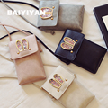 Spring And Summer New Handbag Cell Phone Rabbit Ears Square Sequins Bag Messenger Small Bag