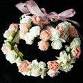 Meninas bonitas do bebê chapéus flores acessórios do casamento Headwear for Kids chapéu hairbands pulseira conjuntos para a menina