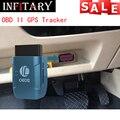 GPS306A TK206 OBD 2 real time gsm Quad Band Anti-theft vibration alarm GSM/GPRS Mini gprs car Tracker Tracking OBD II