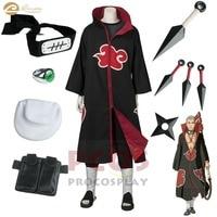 Naruto Shippuden Best Set ~ Akatsuki costume Zombie Combo Hidan cosplay costume Curse Jutsu mp004244