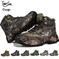 Cunge Winter Footwear for Men Military Shoes Hiking Booties Man Waterproof Sneakers Outdoor Trekking Boots Tourism Army Shoes