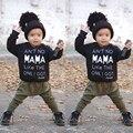 2 PCS Crianças Da Criança Do Bebê Menino Roupas Definir T-shirt Tops Calças Leggings Outfits