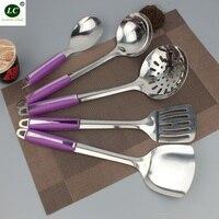 Kitchenware 5 piece Scoop set of Kitchen Utensils Spatula kitchen tool Spoon Stainless steel