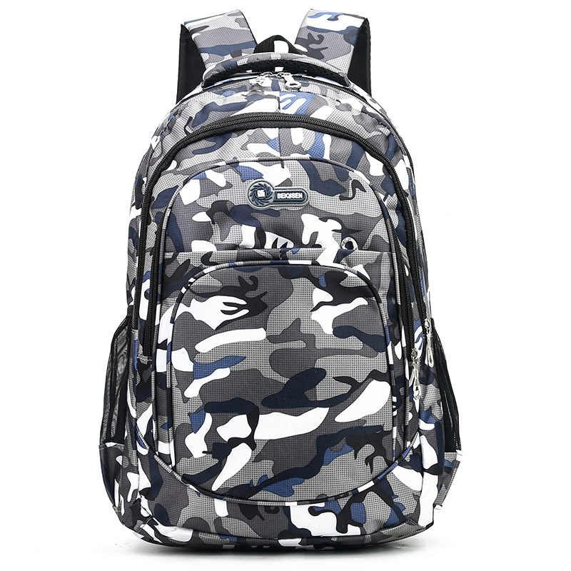 Фото Камуфляжные мужские рюкзаки для путешествий школьная сумка детей классные