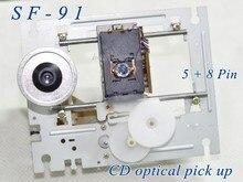 5 pz/lotto SF 91/SF91(5pin + 8Pin) con mechamism SF 91 la doppia lente SF 91 del laser del lettore CD della spina di fila