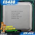 Intel xeon e5430 2.66 ghz/12 m/1333 perto lga771 processador core 2 Quad Q9500 CPU funciona em LGA 775 mainboard sem necessidade adaptador
