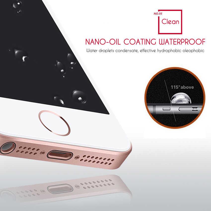 Закаленное стекло для iphone 5s, защитное закаленное стекло, Защитная пленка для iphone 4 5 6 S 7 8 plus, закаленное стекло