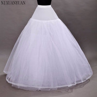 New A Line Lace Tulle Wedding Bridal Petticoat Underskirt Crinolines for Wedding Dress Free Shipping