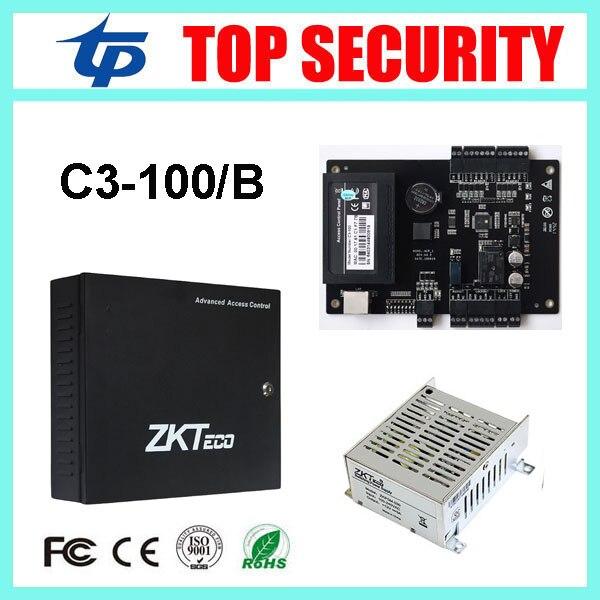 C3-100 1 door access control panel TCP/IP door access control board with battery function power supply protect box door control