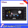 Professional 6.2 inch New Arrival Two 2 din Universal Car DVD Player with GPS Bluetooth Radio RDS
