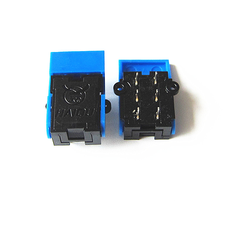 10pcs/Lot The Telephone Pressure Spring Switch Intercom Doorbell Plug Spring Switch Reed Switch