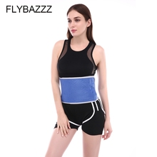 FLYBAZZZ New Promotion Sports Waist Support Sweat Belt Fast Heating Not Pilling Slimming And Abdomen for Men Women
